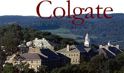 Colgate University in Hamilton, NY